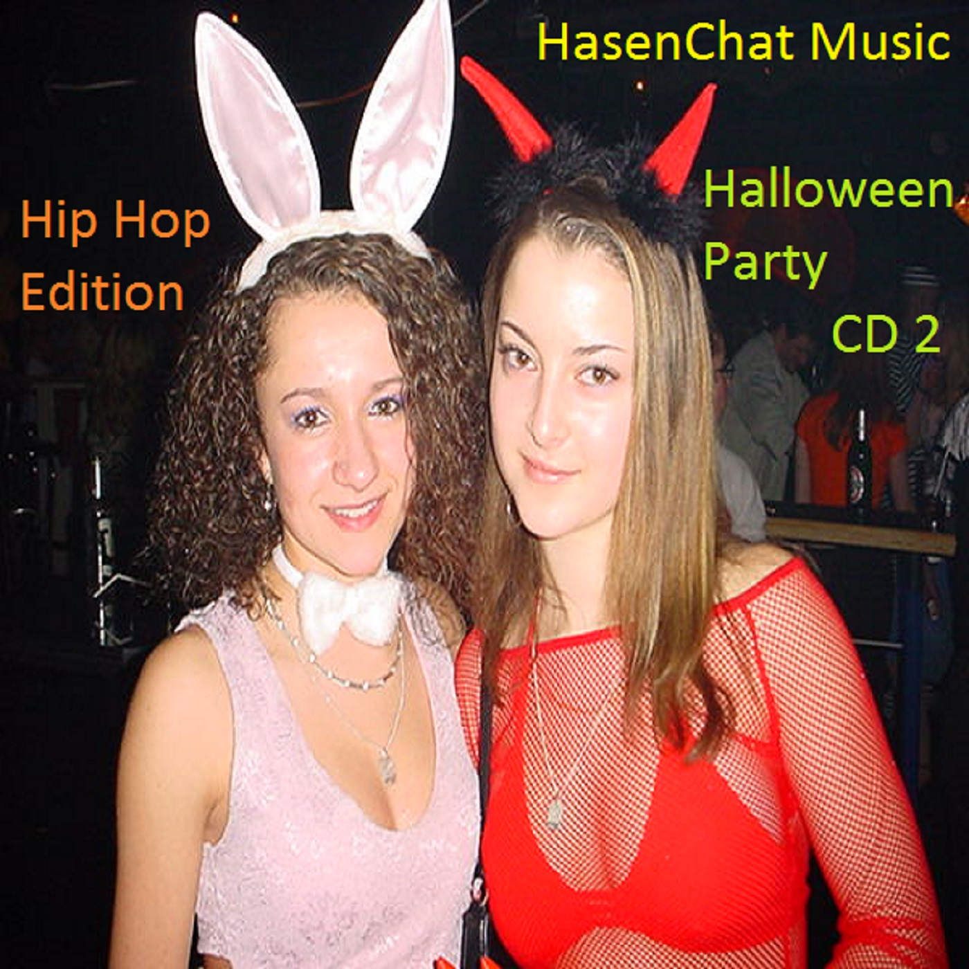 1400x1400 Cover CD 2 Halloween Party - Hip Hop Edition